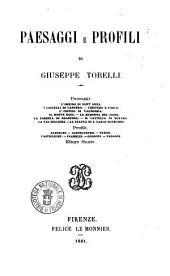 Paesaggi e profili Giuseppe Torelli