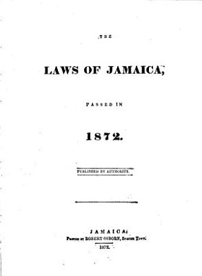 The Acts of Jamaica Passed in the Year     PDF