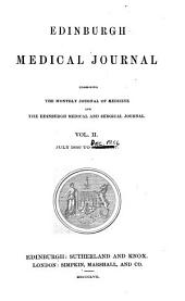 Edinburgh Medical Journal: Volume 2, Issue 1