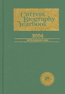 Current Biography Yearbook 2004 PDF