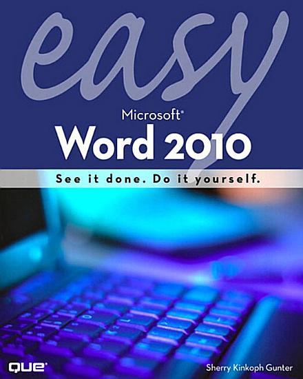 Easy Microsoft Word 2010  Portable Documents PDF