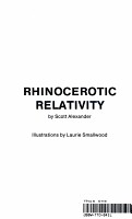 Rhinocerotic Relativity PDF