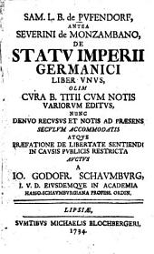 De statu Imperii Germanici liber I