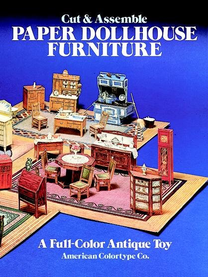 Cut and Assemble Paper Dollhouse Furniture
