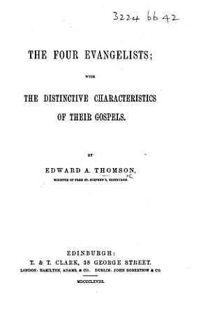 The Four Evangelists PDF