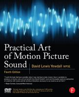 Practical Art of Motion Picture Sound PDF