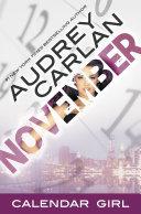 November: Calendar Girl Book 11 by Audrey Carlan