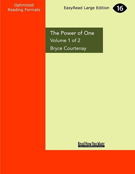 Download The Power of One Book