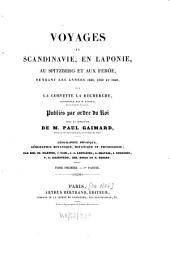 Géographie physique, géographie botanique, botanique et physiologie: Volume1