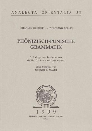 Ph  nizisch Punische Grammatik PDF