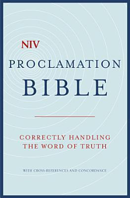NIV Compact Proclamation Bible