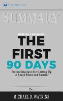 Summary   the First 90 Days PDF