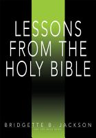 Lessons From the Holy Bible PDF