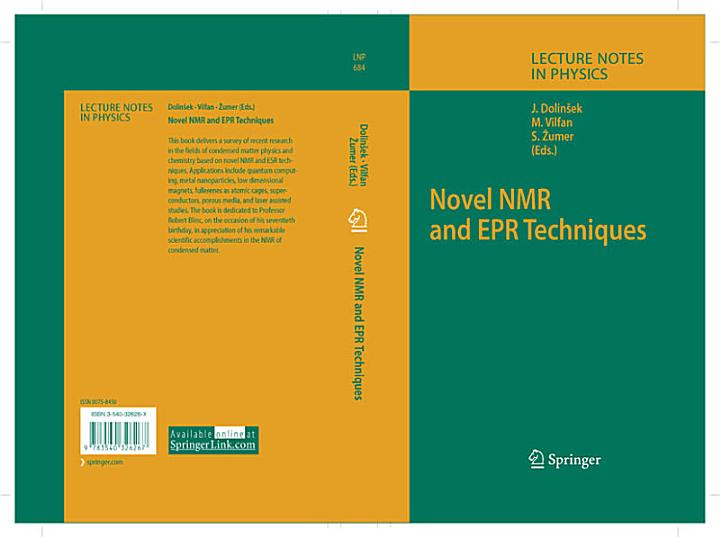 Novel NMR and EPR Techniques