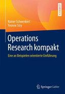 Operations Research kompakt PDF