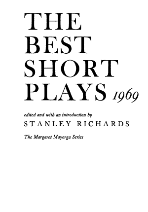 The Best Short Plays