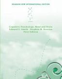 Cognitive Psychology  Pearson New International Edition PDF
