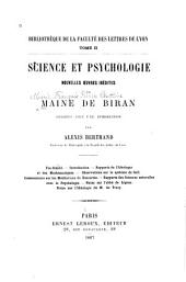 Science et psychologie