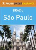 Sao Paulo (Rough Guides Snapshot Brazil)
