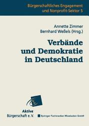 Verb  nde und Demokratie in Deutschland PDF
