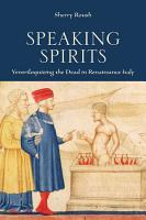 Speaking Spirits PDF
