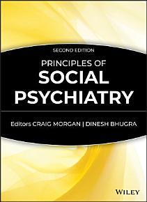 Principles of Social Psychiatry PDF