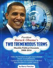 Barack Obama's Two Tremendous Terms: Monthly Political Poetic Chronical
