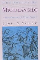 The Poetry of Michelangelo PDF
