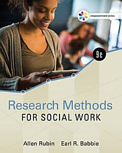 Empowerment Series  Research Methods for Social Work Book