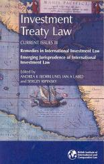 Investment Treaty Law PDF