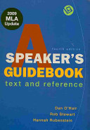 A Speaker s Guidebook  The Essential Guide to Group Communication  Working With Sources Using APA Book