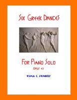 Six Greek Dances for Piano Solo  Opus 43  PDF