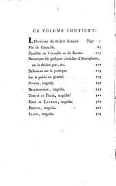 Oeuvres de Fontenelle: des Académies Française, des Sciences, des Belles-lettres, de Londres, de Nancy, de Berlin et de Rome, Volume5