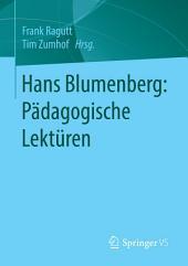 Hans Blumenberg: Pädagogische Lektüren