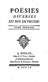 Poësies diverses du roi de Prusse