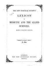 The New Sydenham Society's Lexicon of Medicine and the Allied Sciences: (Based on Mayne's Lexicon)