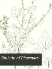 Bulletin of Pharmacy: Volume 4