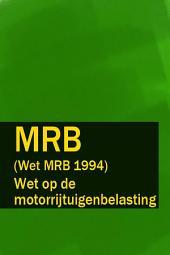 Wet op de motorrijtuigenbelasting - MRB (Wet MRB 1994)