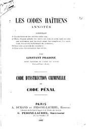Les codes haītiens annotés