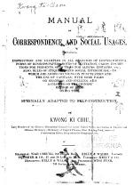 Manual of Correspondence and Social Usages
