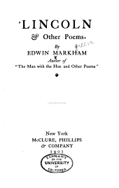 Lincoln & Other Poems