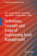 Definitions  Concepts and Scope of Engineering Asset Management PDF