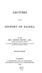 Lectures on the history of Elisha