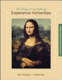 Readings to Accompany Experience Humanities Volume 1 Book
