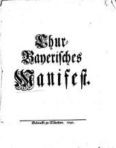 Chur-Bayerisches Manifest