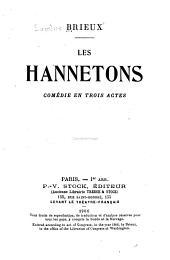 Les hannetons: comédie en trois actes