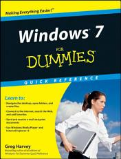 Windows 7 For Dummies Quick Reference PDF
