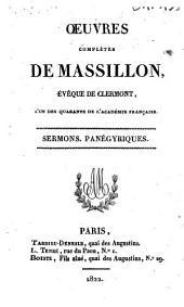 Sermons ; Panégyriques