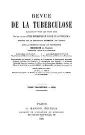 Revue de la tuberculose: Volume3