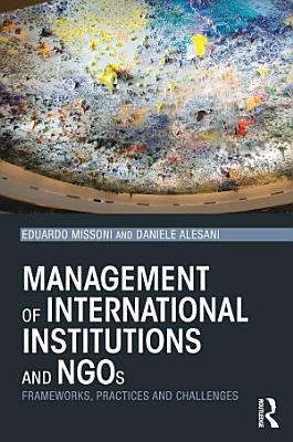Management of International Institutions and NGOs PDF